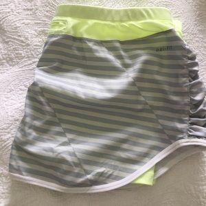 Nike dry fit skirt shorts size xl new skort